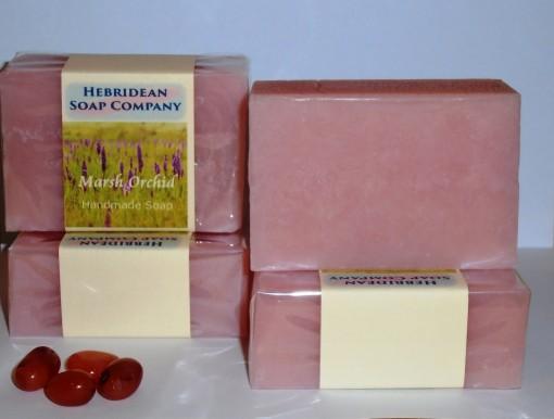 Marsh Orchid soap bar