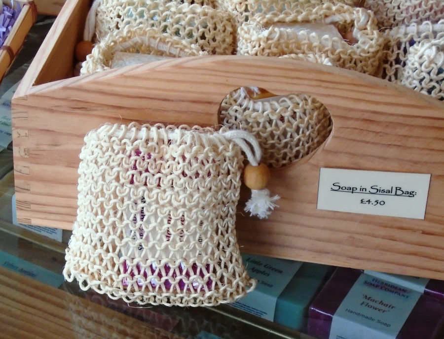 Sisal Bag Soap
