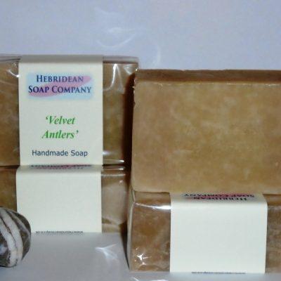 Velvet Antlers soap bar