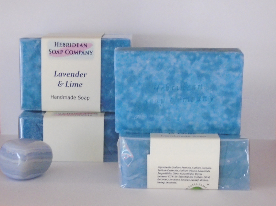 Lavender and Lime soap bar