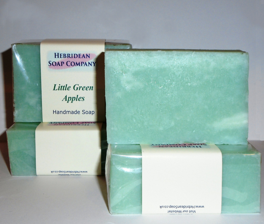 Little Green Apples soap bar