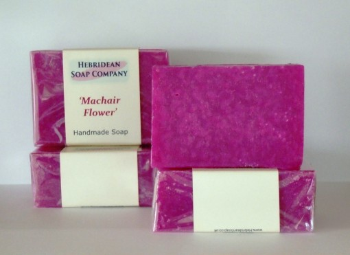 Machair Flowers soap bar