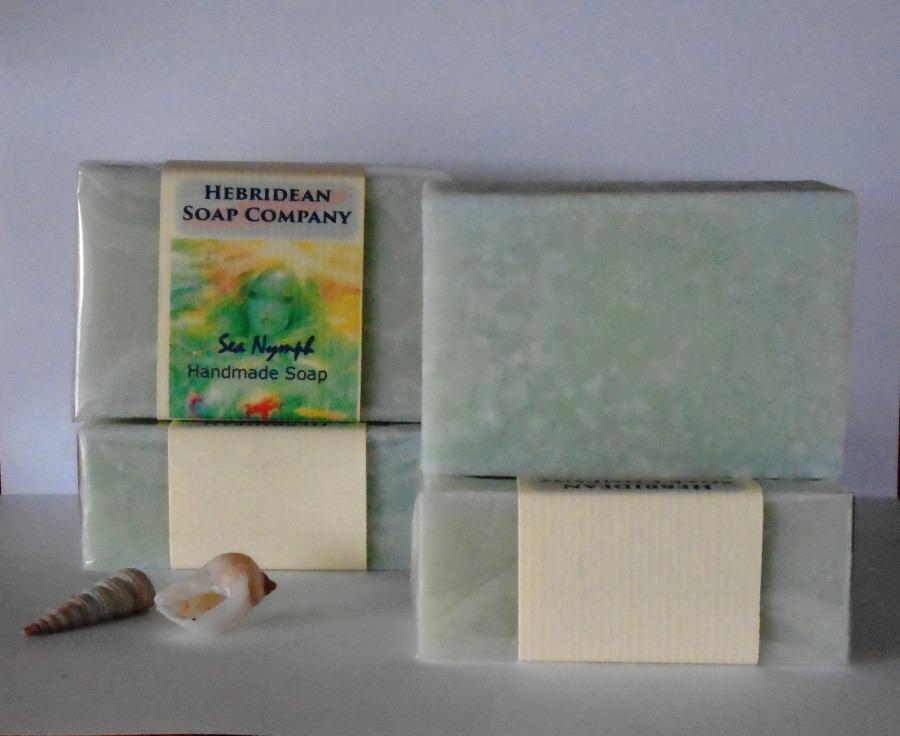 Sea nymph hand-made soap bar
